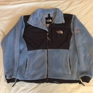 The North Face plush fleece jacket size small